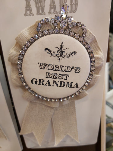 Award ~ World's Best Grandma