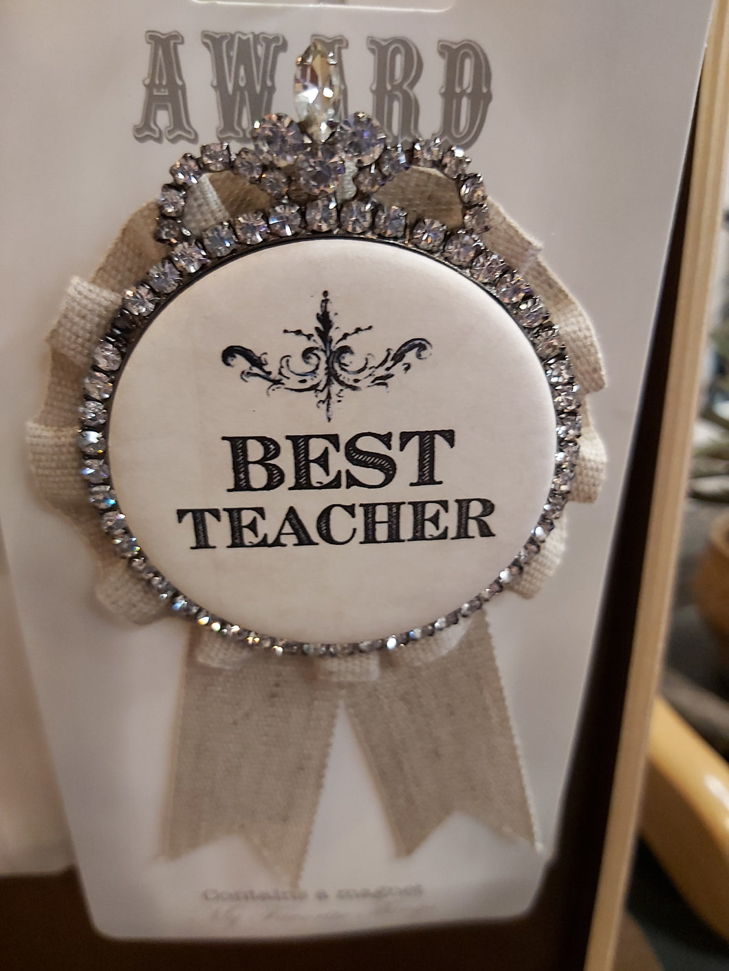Award ~ Best Teacher