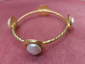 Susan Shaw Pearl Bangle