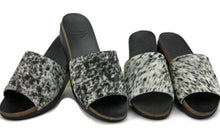 Cowhide Wedge ~ Salt and Pepper
