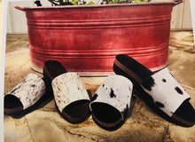 Cowhide Wedges ~ Chocolate