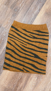 Judith March Tiger Sweater Skirt