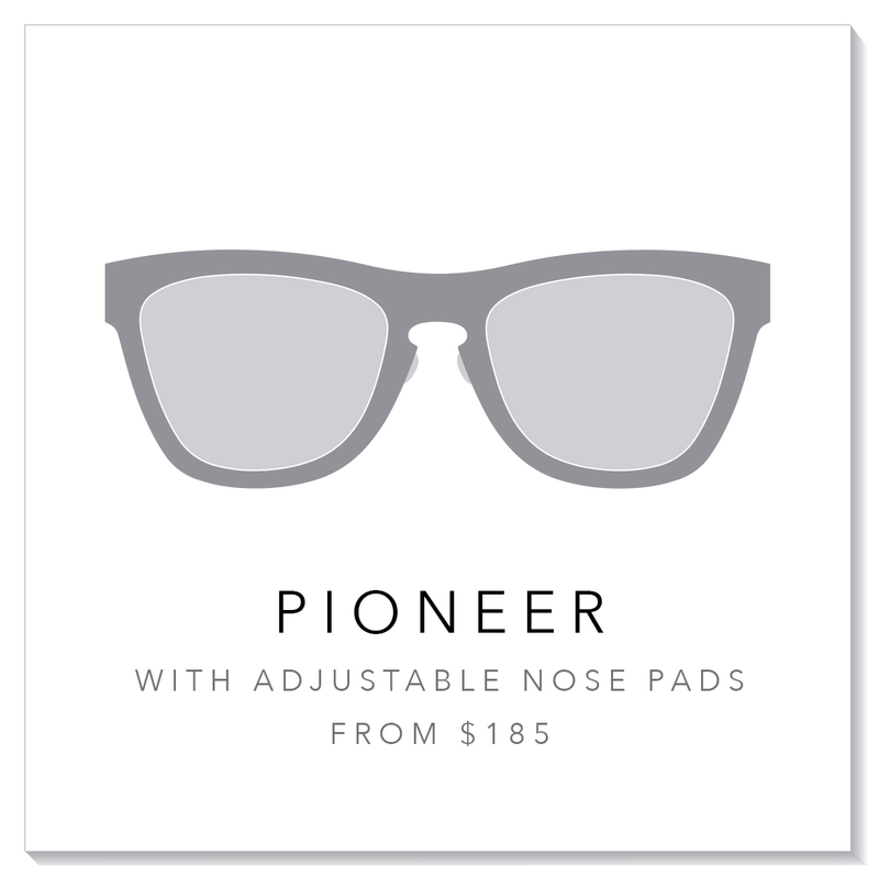 Custom Pioneer with Adjustable Nose Pad