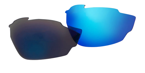 VOLT Neon Blue Mirror Lenses