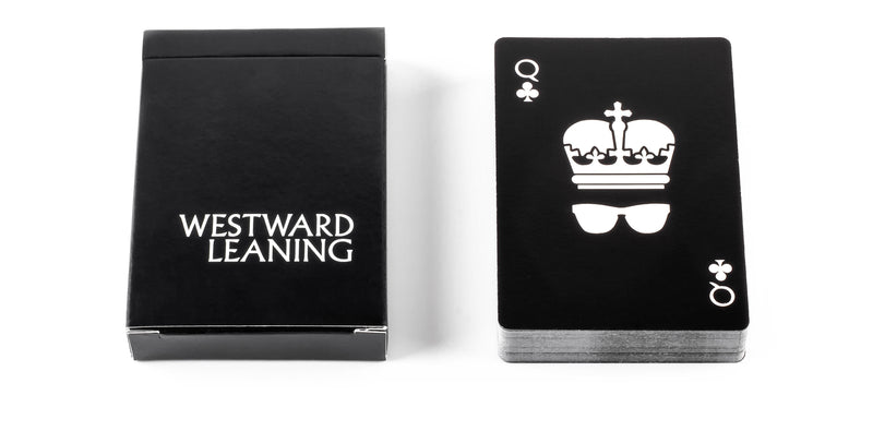 Westward Leaning Playing Cards
