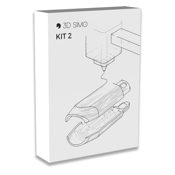 3Dsimo Kit 2 - Main pen body and 3D attachment