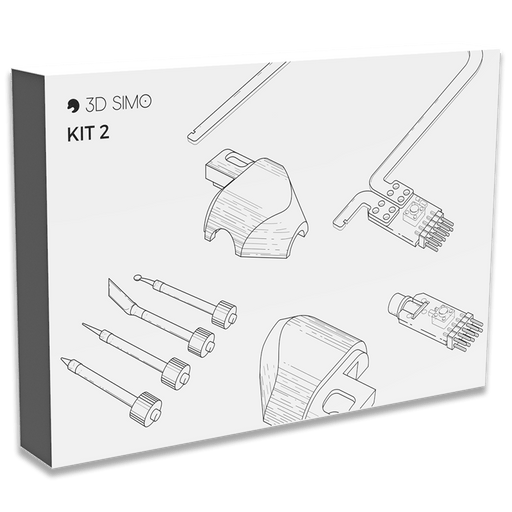 3Dsimo Kit 2 - Extended attachments set