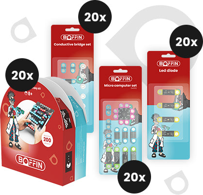 Boffin magnetic - Small school set