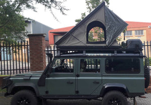 Penthouse Slim tent in matte black