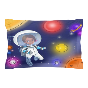 Sister Girl Collection: S.T.E.M. I can be an Astronaut Pillow Shams