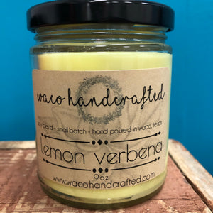 Hand Poured Candles Lemon Verbena