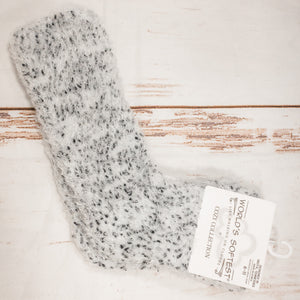 Cozy Dot Chic Crew Socks
