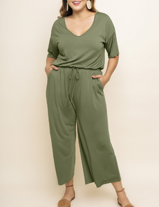 Stay Forever Curvy Jumpsuit