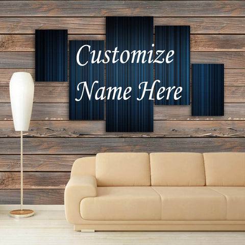 CUSTOMIZED 3D NAME FRAME - DIGITALLY PRINTED (CNF-010)