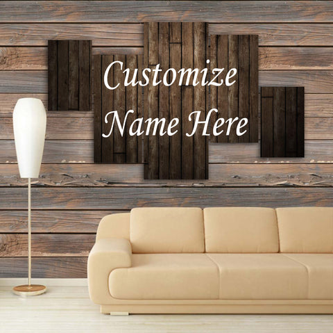 CUSTOMIZED 3D NAME FRAME - DIGITALLY PRINTED (CNF-001)