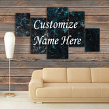 CUSTOMIZED 3D NAME FRAME - DIGITALLY PRINTED (CNF-002)
