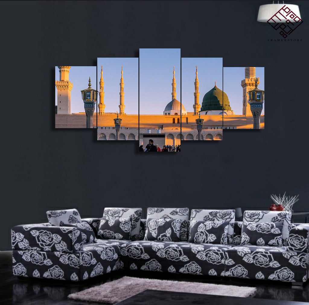 5 PCS Mosque Wall Frame (IS-017)
