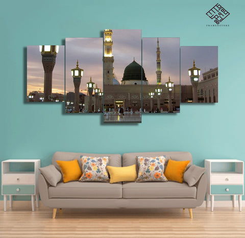 5 PCS Mosque Wall Frame (IS-018)