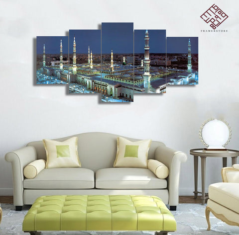 5 PCS Mosque Wall Frame (IS-019)