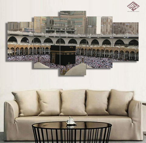 5 PCS Mosque Wall Frame (IS-020)