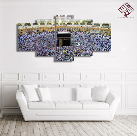 5 PCS Mosque Wall Frame (IS-021)
