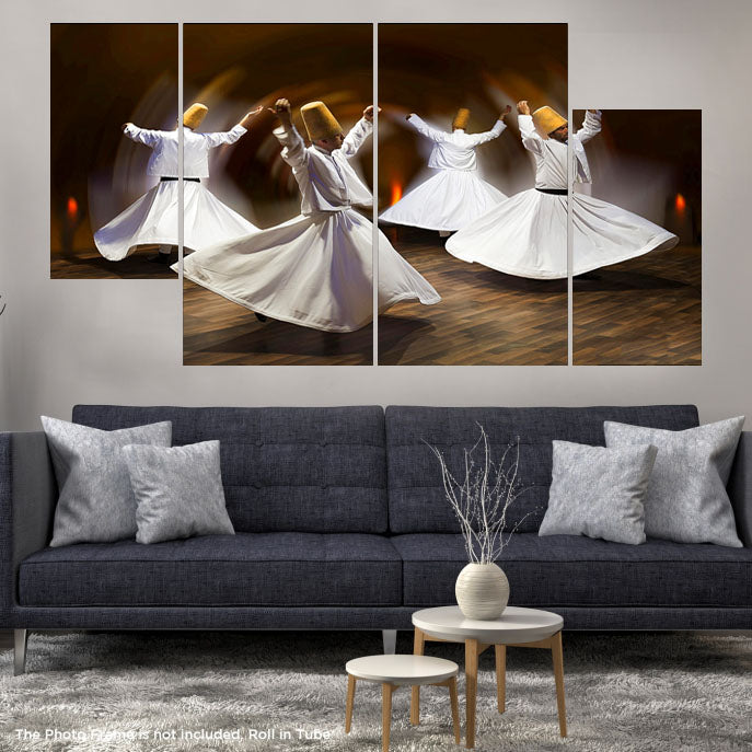 4 DIVIDED 3D WALL FRAME (SKU-WF-163)
