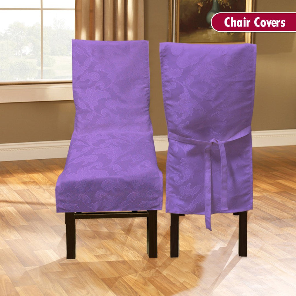 Dining Room Chair Cover - Light Purple