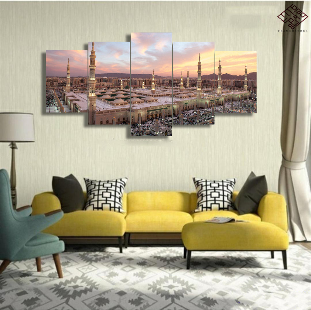 5 PCS Mosque Wall Frame (IS-003)