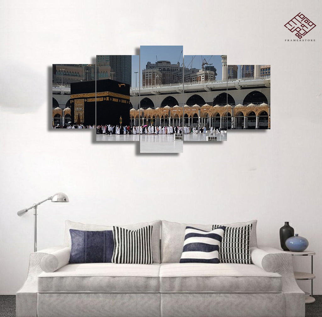 5 PCS Mosque Wall Frame (IS-002)