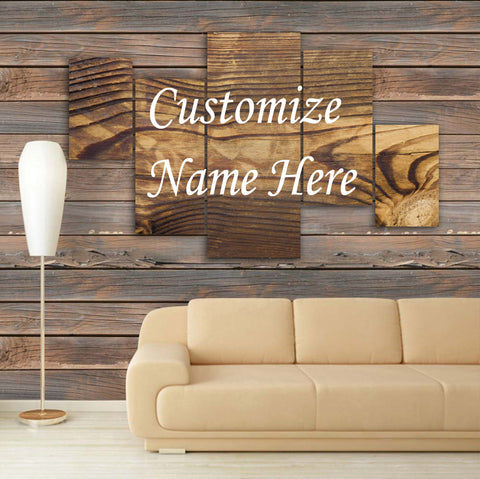 CUSTOMIZED 3D NAME FRAME - DIGITALLY PRINTED (CNF-004)