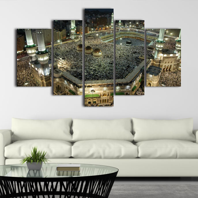 5 SPLIT CANVAS WALL FRAME - (Sku-WF0186)