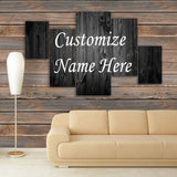 CUSTOMIZED 3D NAME FRAME - DIGITALLY PRINTED (CNF-006)