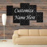 CUSTOMIZED 3D NAME FRAME - DIGITALLY PRINTED (CNF-007)