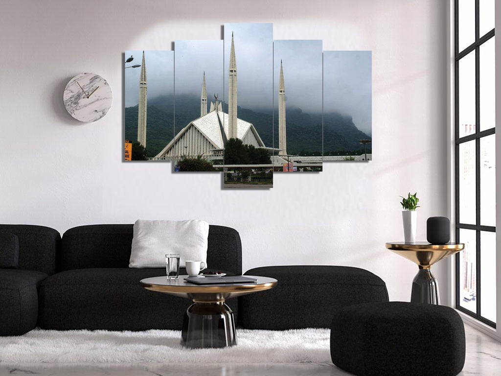 5 Split 3D Wall Frame - Digitally Printed (SKu-WF030)