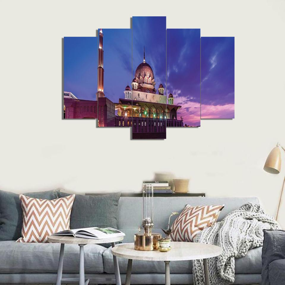 5 Split 3D Wall Frame - Digitally Printed (SKu-WF042)