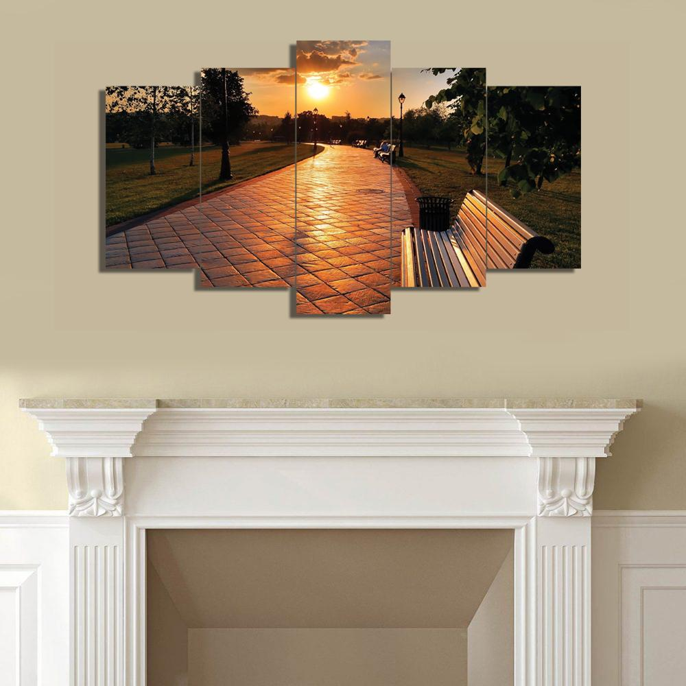 5 Split 3D Wall Frame - Digitally Printed (SKu-WF053)