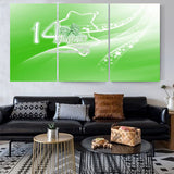 3 DIVIDED WALL FRAME - DIGITALLY PRINTED - AZADI SALE