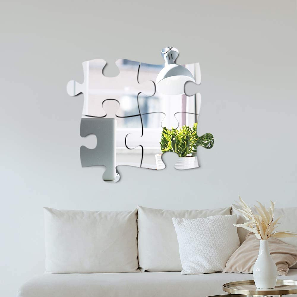 PUZZLE MIRROR ACRYLIC 4 PCS SET
