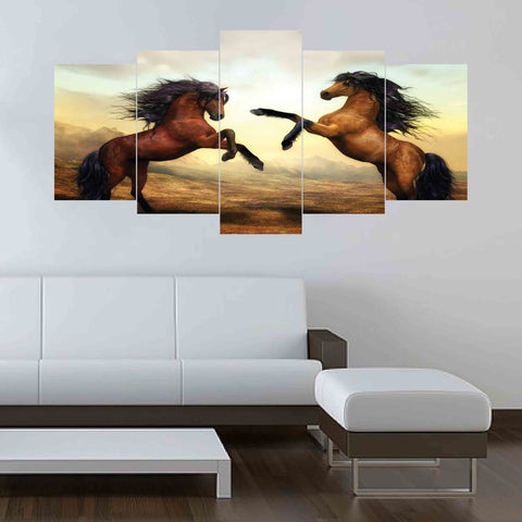 5 SPLIT CANVAS WALL FRAME - (Sku-WF0204)