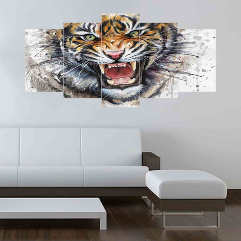 5 SPLIT CANVAS WALL FRAME - (Sku-WF02067)
