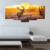 5 SPLIT CANVAS WALL FRAME - (Sku-WF0208)