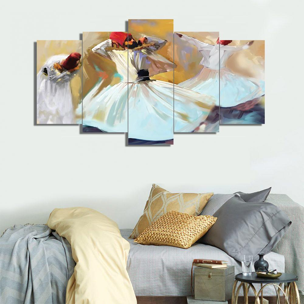 5 Split 3D Wall Frame - Digitally Printed (SKu-WF021)