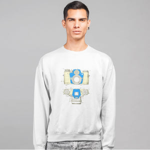Camera patent sweatshirt - Sigma Shirts