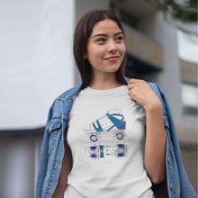 Load image into Gallery viewer, Roller skate patent t-shirt - Sigma Shirts