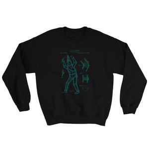 Diving Apparatus patent sweatshirt - Sigma Shirts