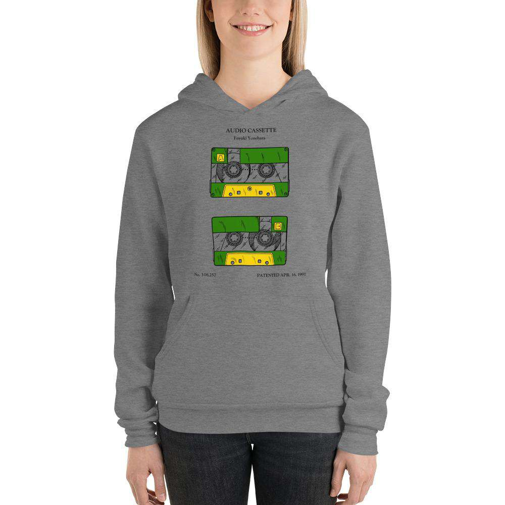 Cassette tape patent hoodie - Sigma Shirts