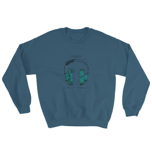 Headphones patent sweatshirt - Sigma Shirts