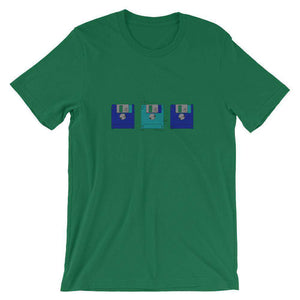 Floppy disk patent t-shirt - Sigma Shirts