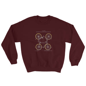 4-wheel bike sweatshirt - Sigma Shirts