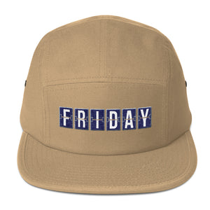 Friday Five Panel Cap - Sigma Shirts